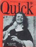 Rita Hayworth on the cover of Quick (United States) - September 1949