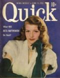 Rita Hayworth on the cover of Quick (United States) - June 1951