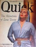 Lana Turner on the cover of Quick (United States) - October 1952