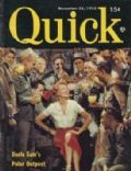 Rita Hayworth on the cover of Quick (United States) - November 1953
