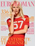 Caroline Maria Winberg on the cover of Eurowoman (Denmark) - February 2012
