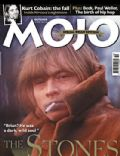 Brian Jones, Keith Richards, Mick Jagger on the cover of Mojo (United Kingdom) - October 2002
