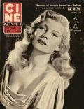 Rita Hayworth on the cover of Cine Revue (France) - May 1951