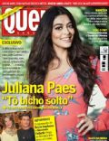 Bruno Gagliasso, Gabriela, Giovanna Ewbank, Juliana Paes on the cover of Quem (Brazil) - June 2012