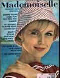 on the cover of Mademoiselle (United States) - June 1962