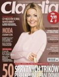 Malgorzata Rozenek on the cover of Claudia (Poland) - November 2013
