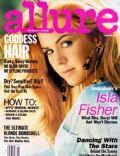 Isla Fisher, Norman Jean Roy on the cover of Allure (United States) - February 2009