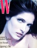 Stephanie Seymour, Wayne Maser on the cover of W (United States) - May 1994