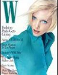Craig McDean, Nadja Auermann on the cover of W (United States) - April 1995