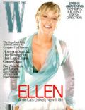 Ellen DeGeneres on the cover of W (United States) - March 2007