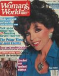 Joan Collins on the cover of Womans World (United States) - October 1988