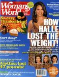 Halle Berry on the cover of Womans World (United States) - November 2008