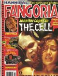 Jennifer Lopez on the cover of Fangoria (United States) - September 2000