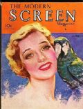 Loretta Young on the cover of Modern Screen (United States) - April 1931