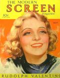 Marlene Dietrich on the cover of Modern Screen (United States) - May 1931
