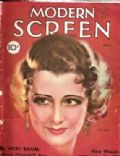 Irene Dunne on the cover of Modern Screen (United States) - May 1932