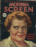 Marie Dressler on the cover of Modern Screen (United States) - July 1932