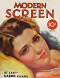 Sidney Fox on the cover of Modern Screen (United States) - January 1933