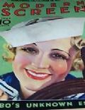 Sally Eilers on the cover of Modern Screen (United States) - June 1933