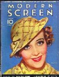 Ruby Keeler on the cover of Modern Screen (United States) - August 1933