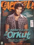 Bruno Gagliasso on the cover of Capricho (Brazil) - October 2005