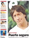 Nicolas Vazquez on the cover of Clarin (Argentina) - December 2011