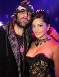 Sunny Leone and Criss Angel