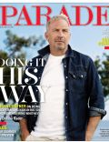 Kevin Costner on the cover of Parade (United States) - May 2012