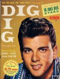 Fabian on the cover of Dig (United States) - December 1959