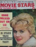 Connie Stevens on the cover of Movie Stars (United States) - February 1961