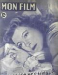 Greer Garson on the cover of Mon Film (France) - September 1949