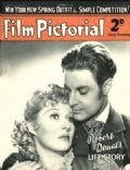 Cary Grant, Greer Garson on the cover of Film Pictorial (United Kingdom) - March 1939