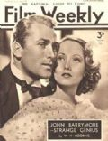 Greta Garbo, Merle Oberon on the cover of Film Weekly (United Kingdom) - April 1937