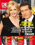 Antonio Banderas, Melanie Griffith on the cover of Diez Minutos (Spain) - June 2014