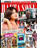 Sibel Can on the cover of Haftasonu (Turkey) - July 2012