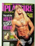Bret Michaels on the cover of Playgirl (United States) - August 1993