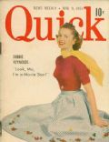 Debbie Reynolds on the cover of Quick (United States) - April 1951