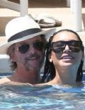 Naya Rivera and David Spade