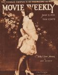 Ann Pennington on the cover of Movie Weekly (United Kingdom) - June 1923