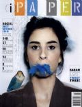 Sarah Silverman on the cover of Paper (United States) - May 2010