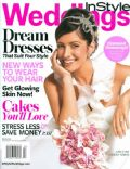 Sarah Shahi on the cover of Instyle Weddings (United States) - March 2009