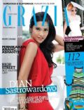 on the cover of Grazia (Indonesia) - June 2012