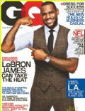LeBron James on the cover of Gq (United States) - September 2010