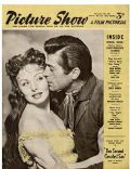 Jeanne Crain on the cover of Picture Show (United Kingdom) - November 1955