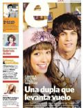 María Candela Vetrano, Pablo Martinez on the cover of Clarin (Argentina) - June 2011