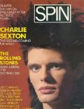 Charlie Sexton on the cover of Spin (United States) - May 1986