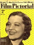 Sylvia Sidney on the cover of Film Pictorial (United Kingdom) - December 1933