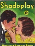Myrna Loy, Warner Baxter on the cover of Shadoplay Magazine (United States) - December 1934