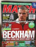 David Beckham, Fredrik Ljungberg on the cover of Other (United Kingdom) - March 2000