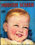 Baby LeRoy on the cover of Modern Screen (United States) - July 1934